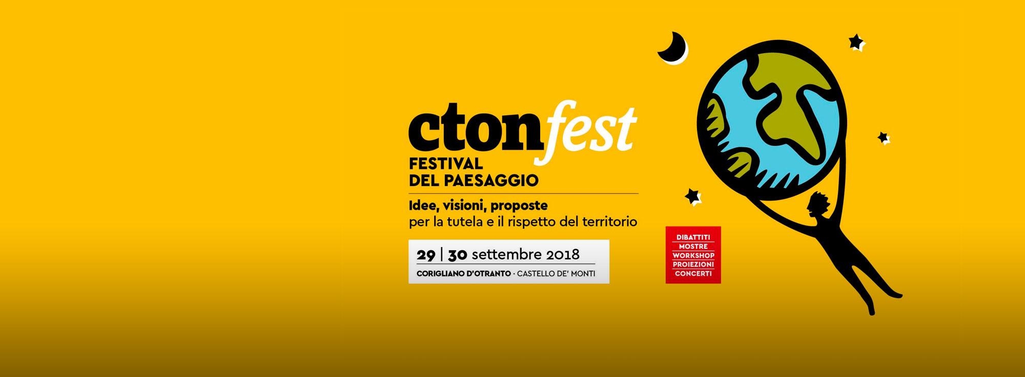 Corigliano d'Otranto: Cton Fest - Festival del Paesaggio