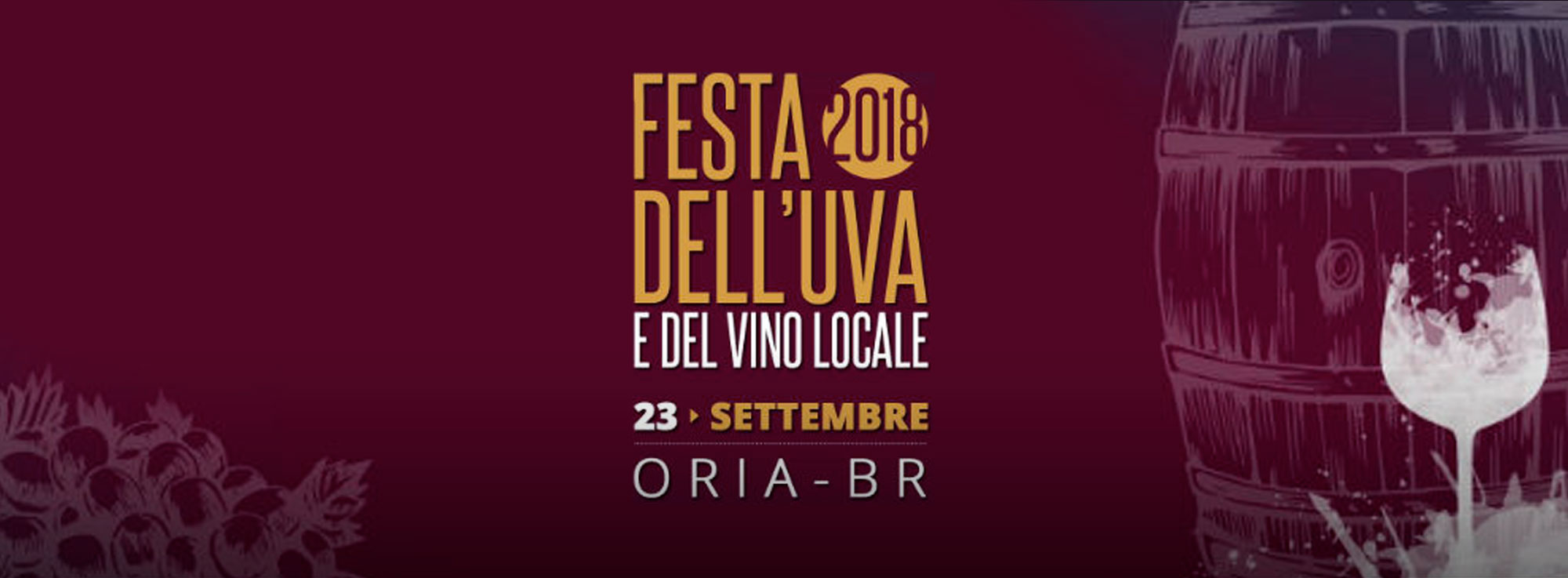 Oria: Festa dell'uva e del vino locale