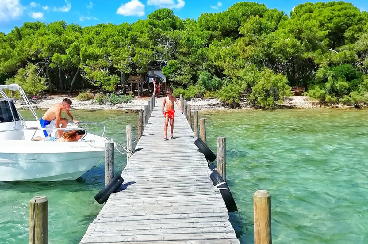 Isola dei Conigli, piccolo paradiso a pochi metri da Porto Cesareo