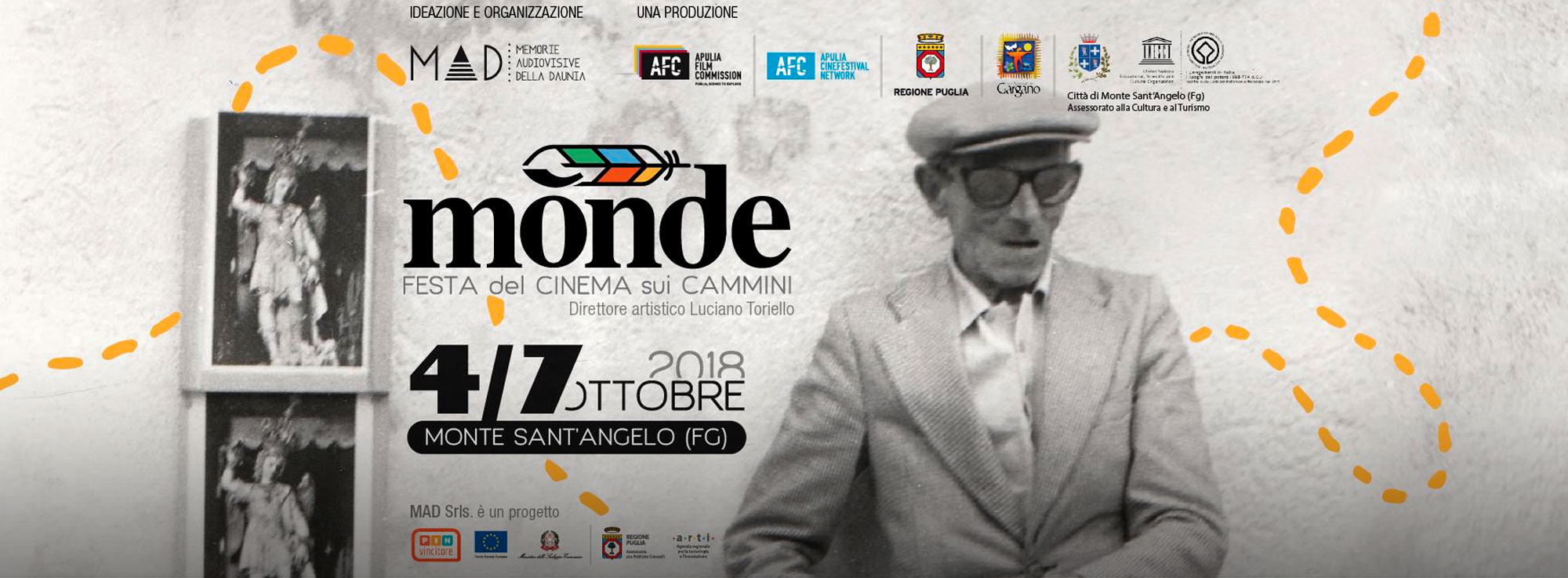 Monte Sant'Angelo: Mònde - Festa del cinema sui Cammini