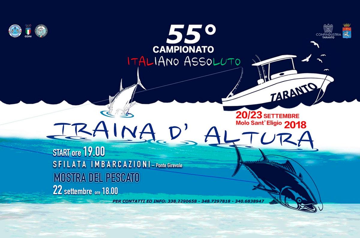 55° Campionato Italiano Assoluto per Equipaggi di Traina d'Altura