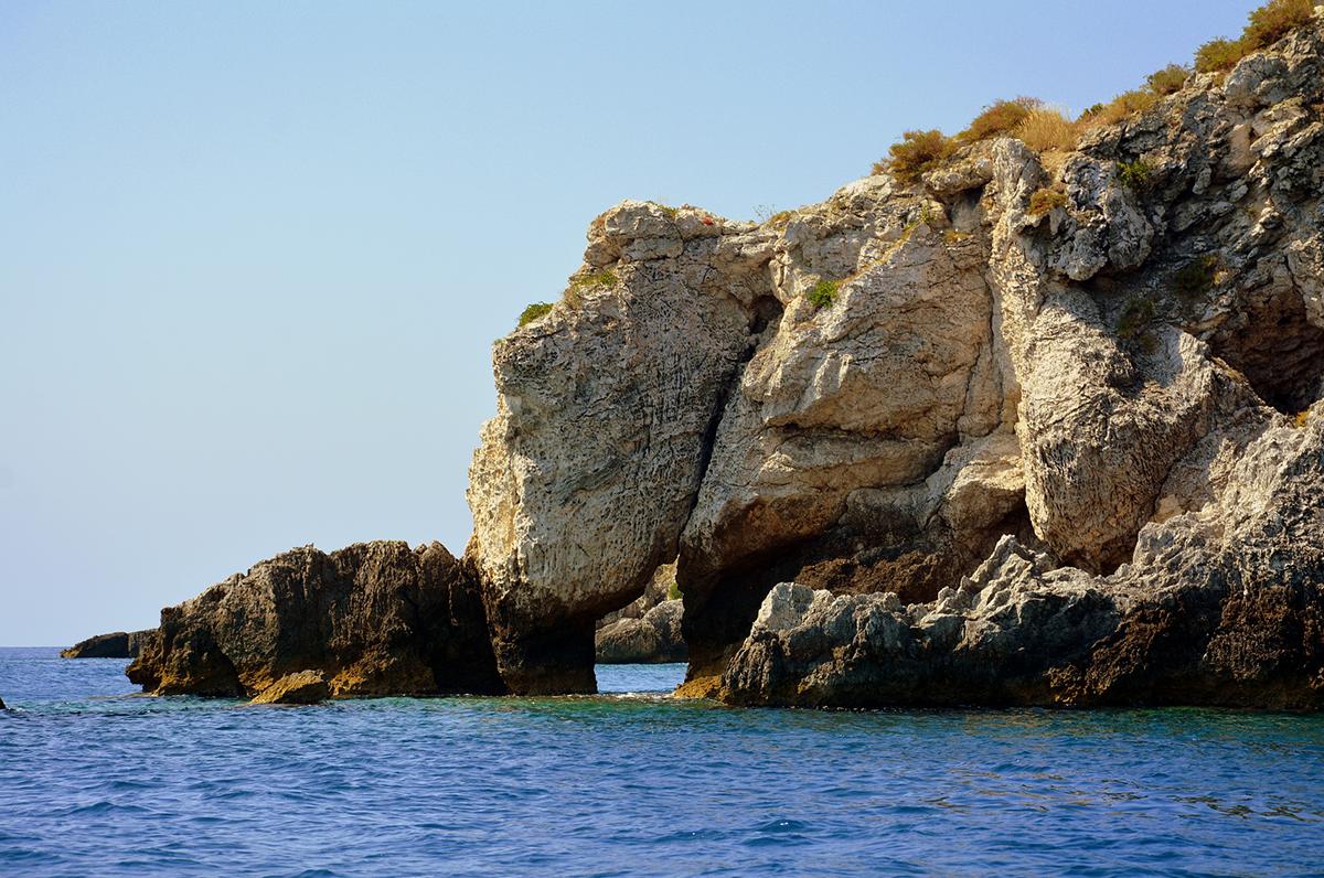 Grotte delle Isole Tremiti, scenari mozzafiato dell'Isola di San Domino