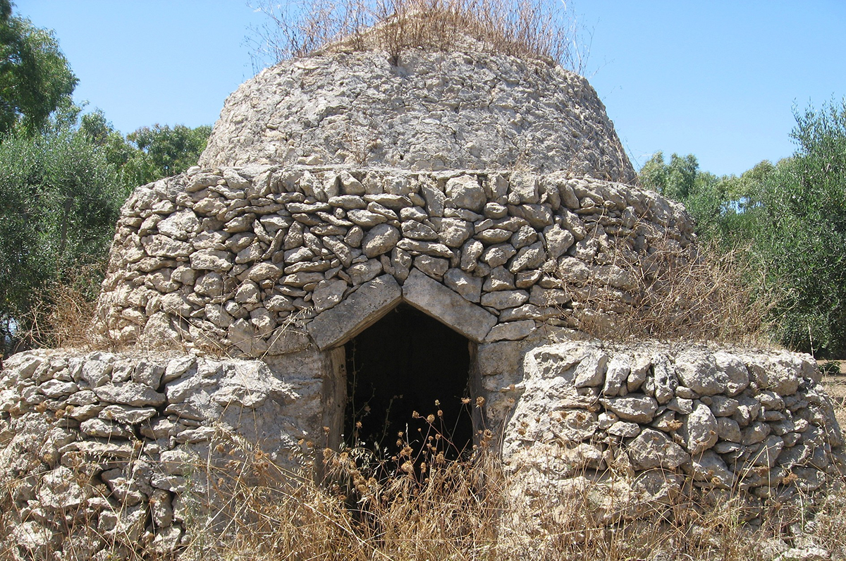 Pajare, i trulli del Salento, costruzioni storiche delle campagne