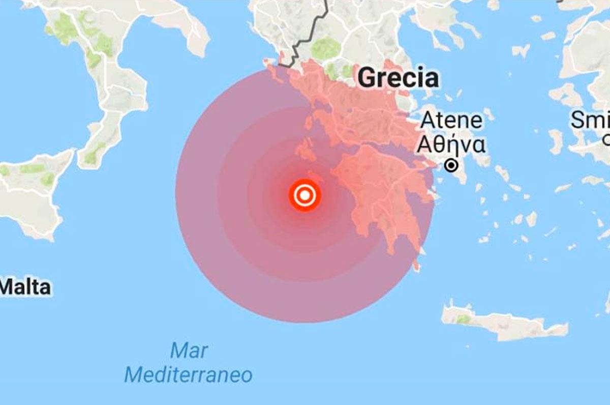 Forte scossa di terremoto in Grecia, paura anche in Puglia