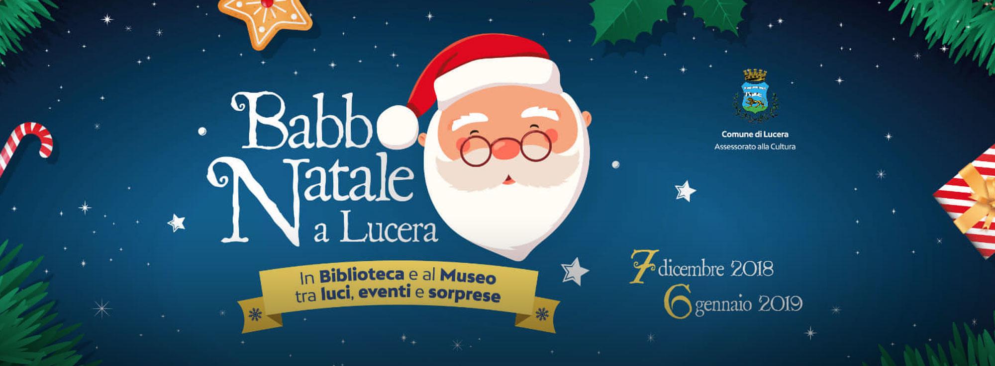 Lucera: Babbo Natale a Lucera