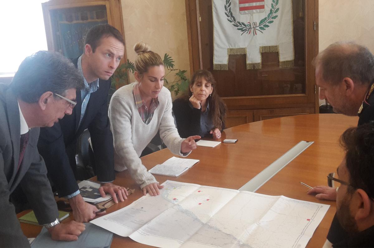 Relitti marini tra Barletta e Manfredonia, l'America visita l'Italia