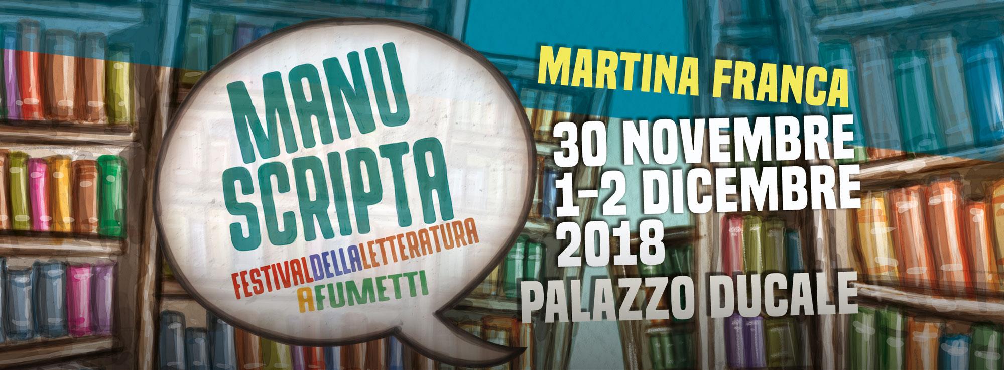 Martina Franca: Manuscripta - Festival della letteratura a fumetti