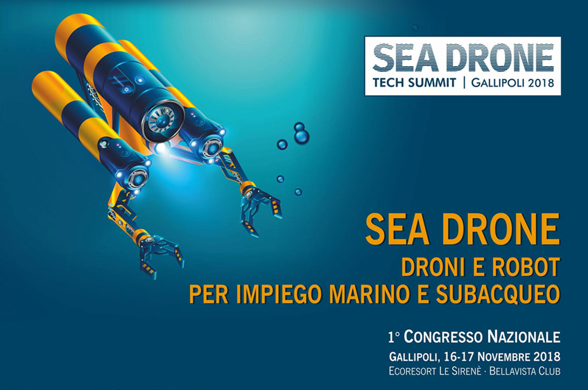 Sea Drone Tech Summit 2018