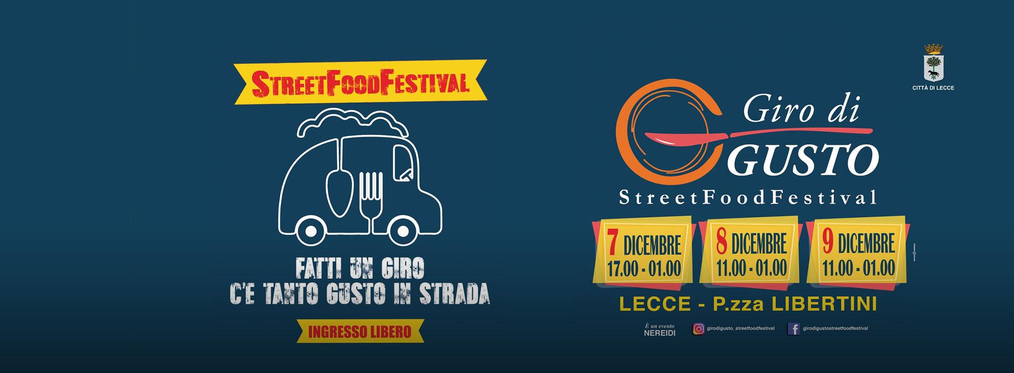 Lecce: Giro di Gusto Street Food Festival