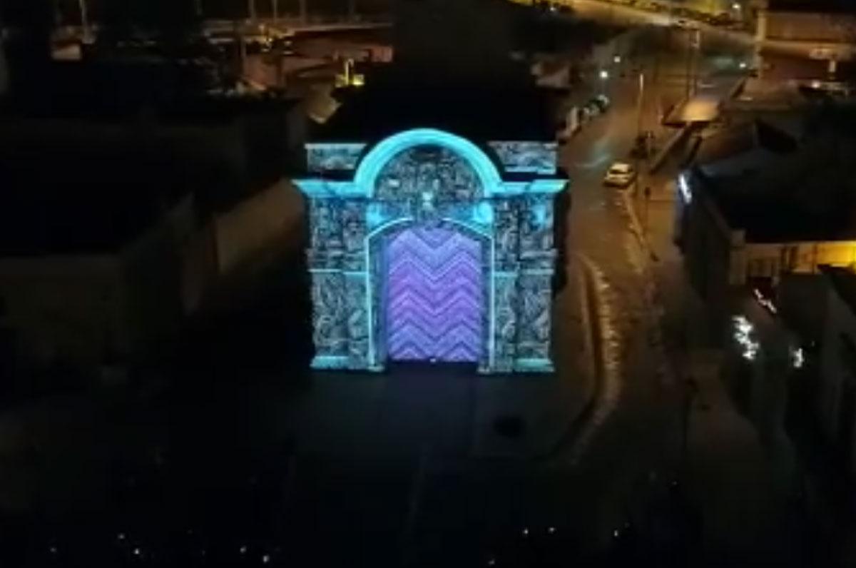 Videomapping 3D a Barletta. Grande entusiasmo dei cittadini