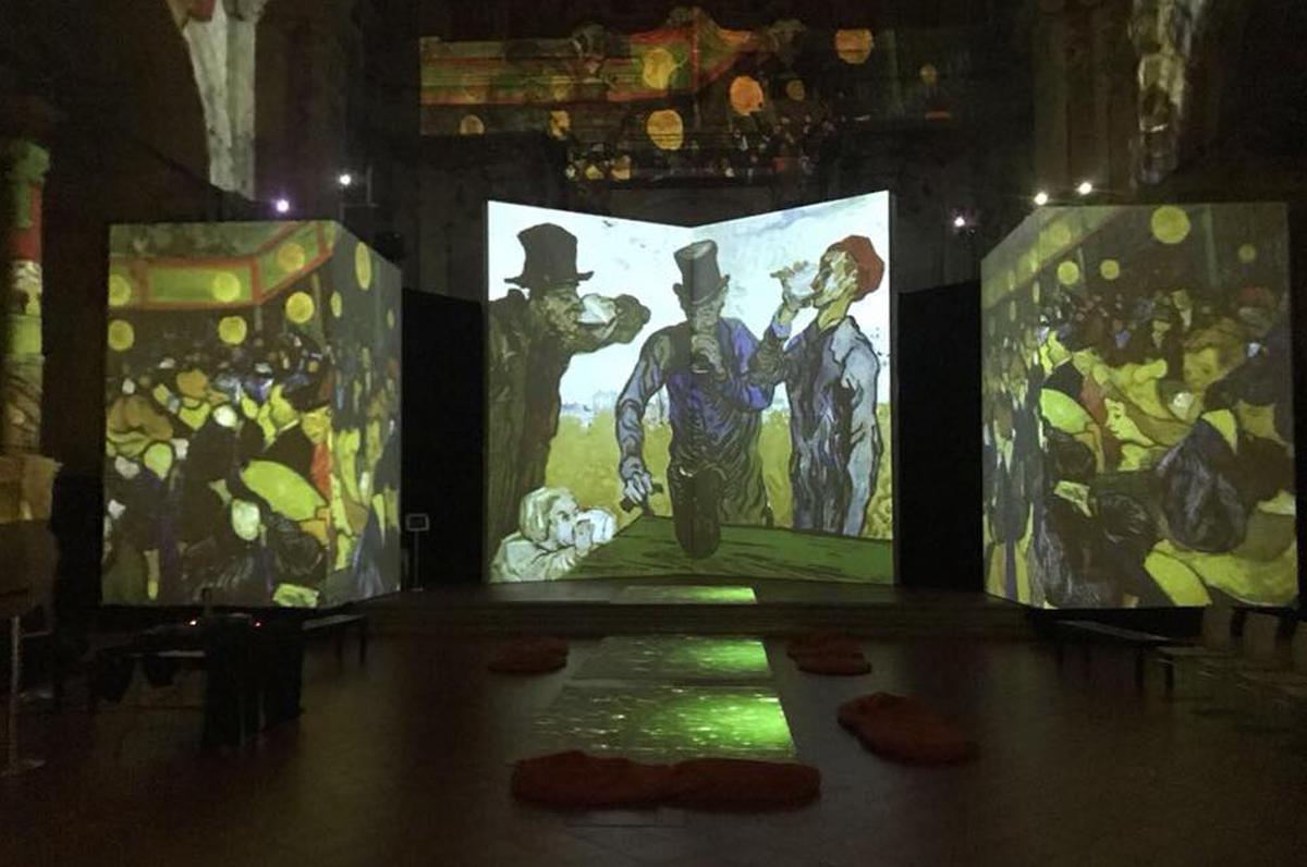 Van Gogh Alive e il Teatro Margherita, è già un successo per la mostra