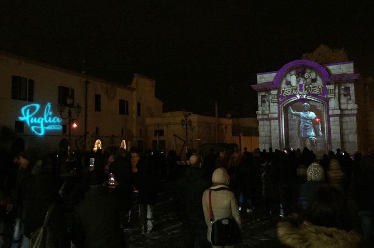 Videomapping a Barletta, i ringraziamenti di Puglia.com