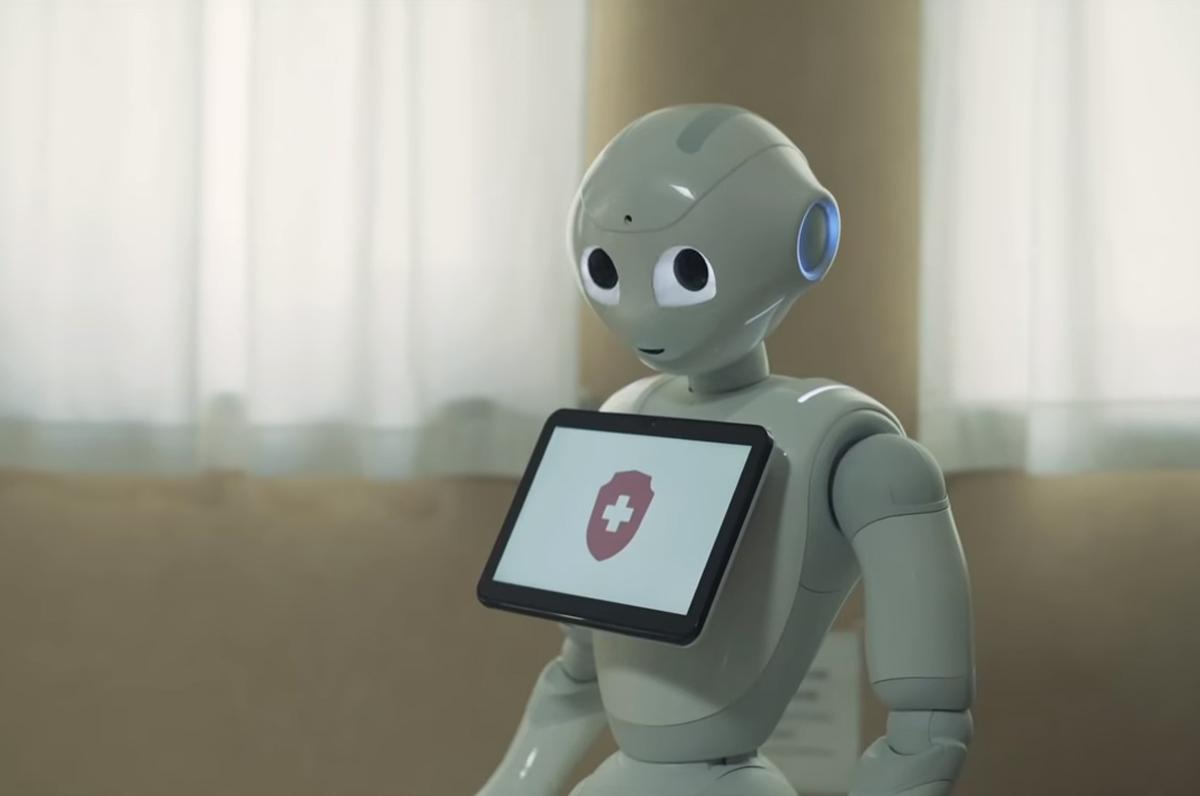 Robot umanoidi all'ospedale di San Giovanni Rotondo