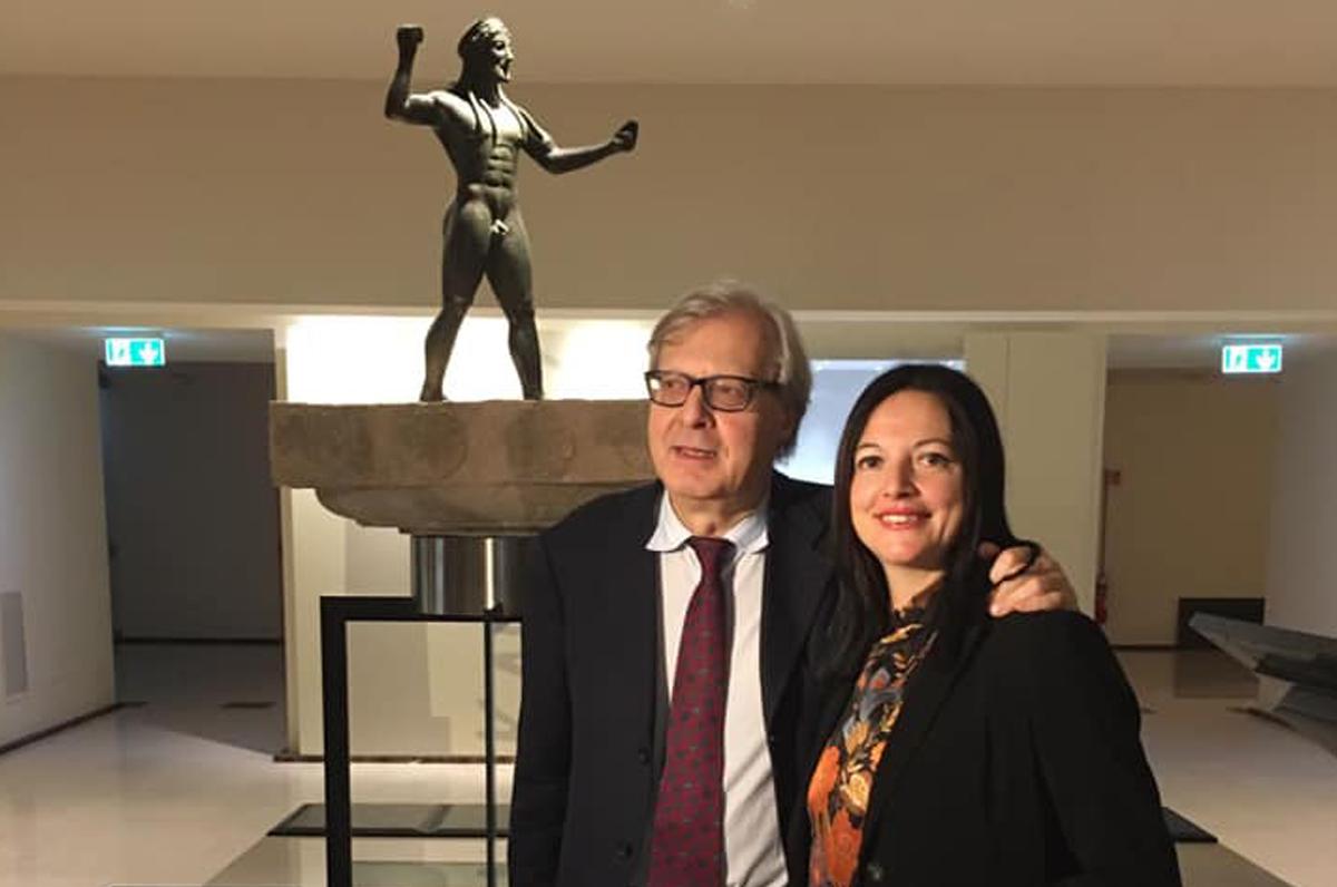 """Vittorio Sgarbi: """"Il museo di Taranto è il più bello del sud """""""