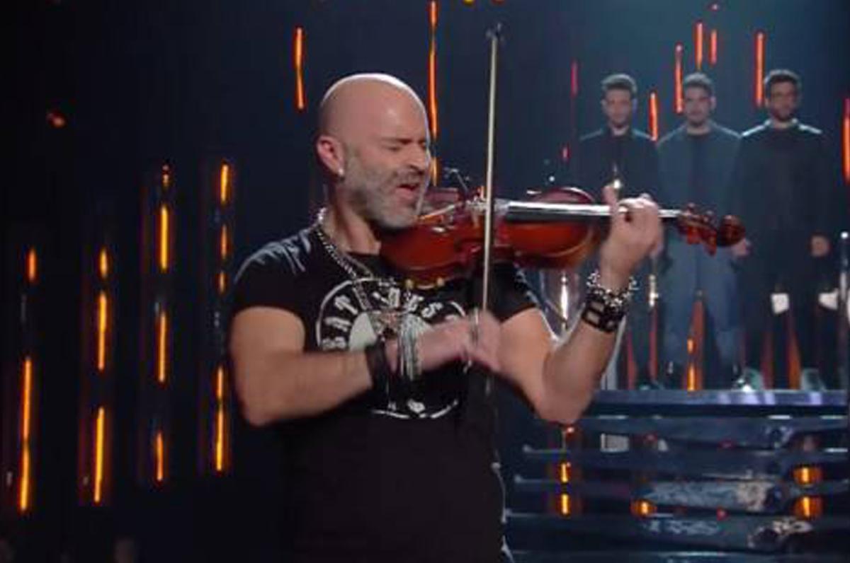 Alessandro Quarta, il violinista salentino a Sanremo