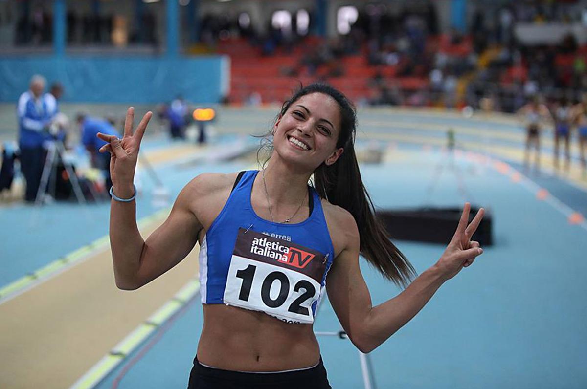 Francesca Lanciano, la pugliese da oro nell'atletica leggera
