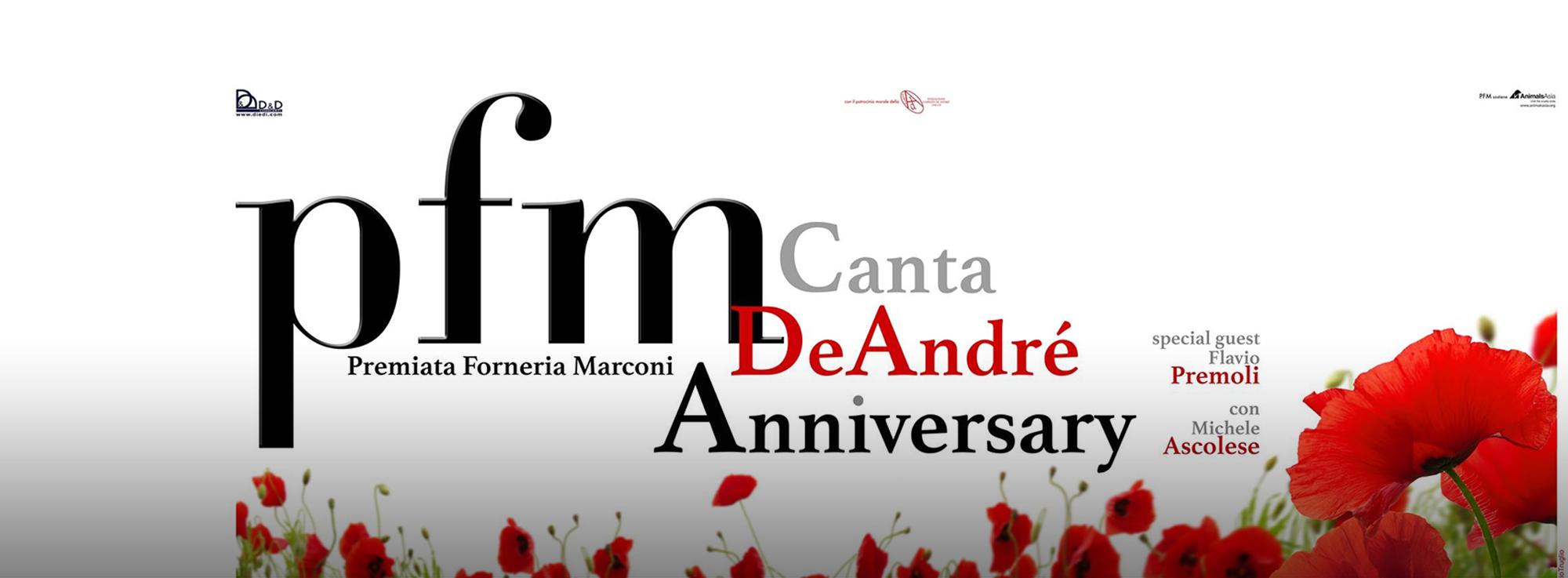 Martina Franca: PFM canta De André - Anniversary
