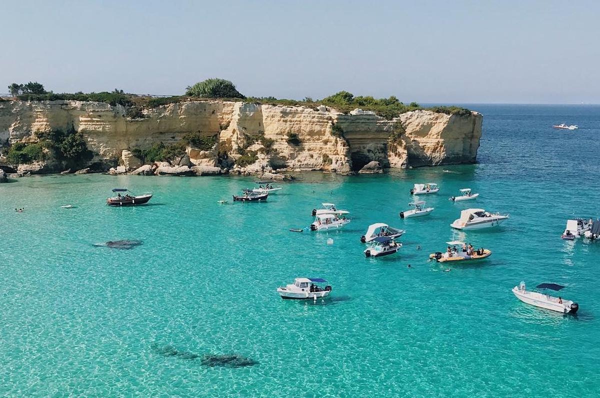 Baia del Mulino d'Acqua, un'oasi nelle acque di Otranto