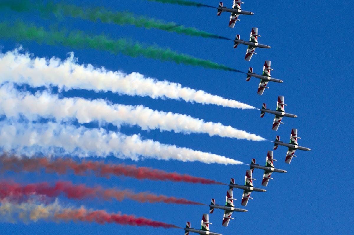 Frecce Tricolori, lo spettacolo si terrà a Bari, Brindisi e Otranto