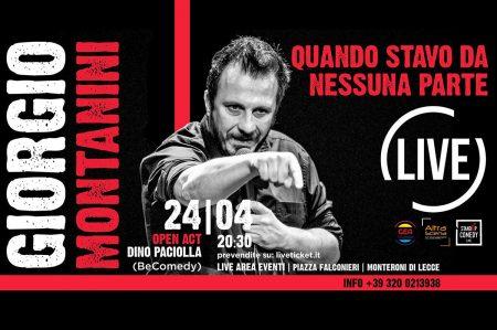 Stand up comedy a Monteroni di Lecce: 2 appuntamenti ad aprile