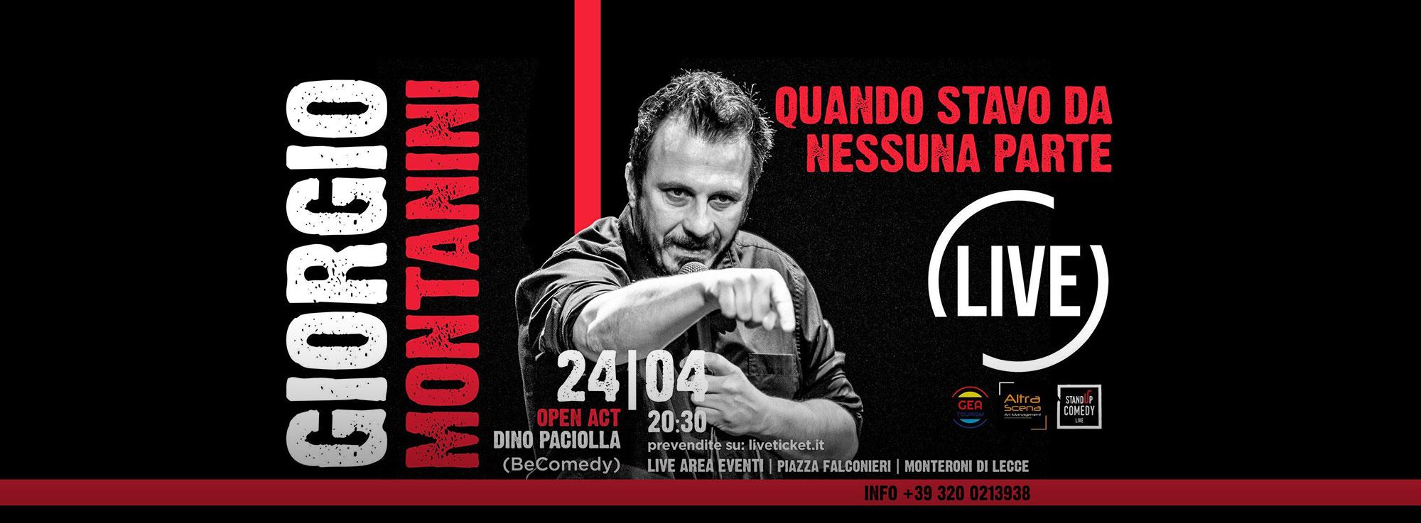 Monteroni di Lecce: Stand Live Comedy