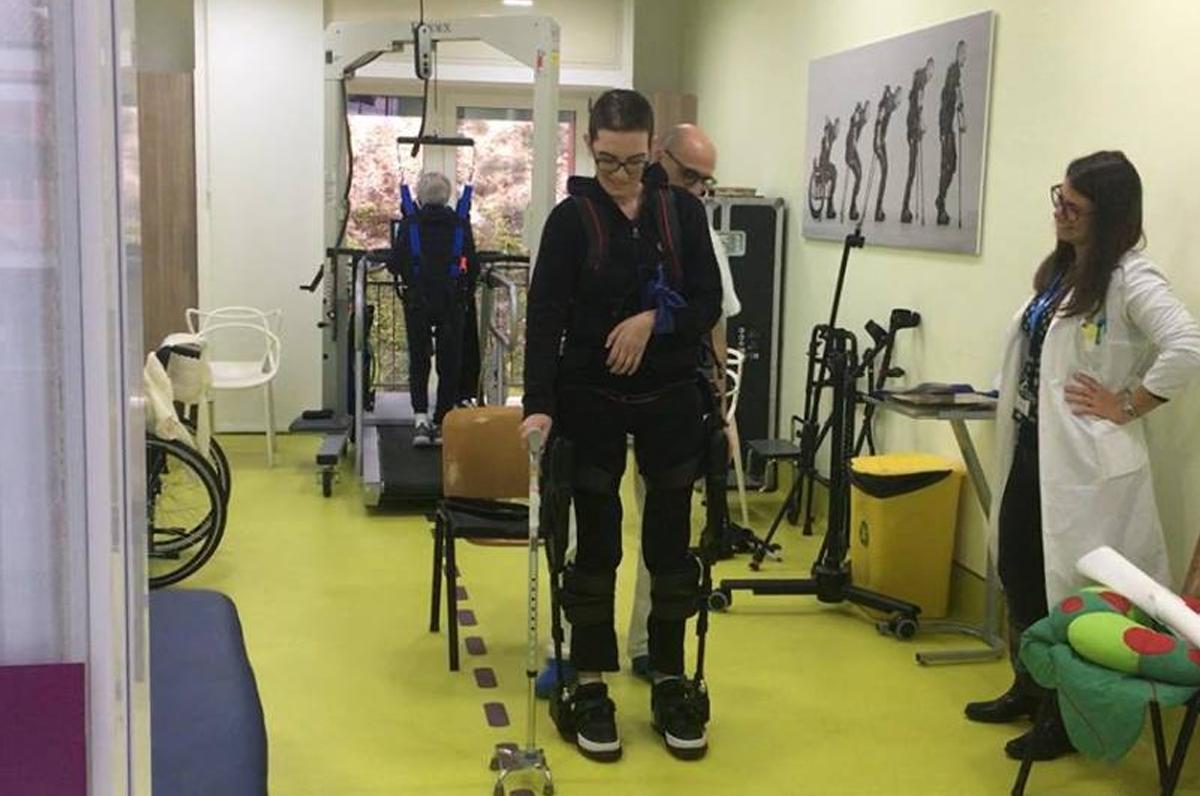 Ictus, testato un robot per permettere ai pazienti di camminare