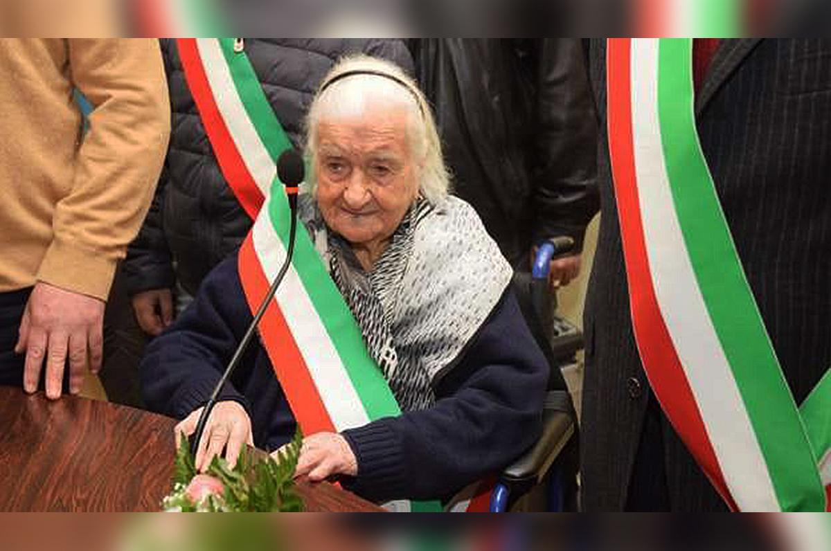 Nonna Peppa, la signora dei primati compie 116 anni