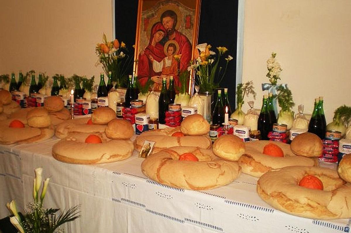La Tavole di San Giuseppe: una religiosa tradizione culinaria