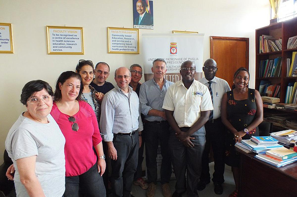 """""""From Puglia with Love"""", parte la missione umanitaria dei medici nefrologi in Uganda"""