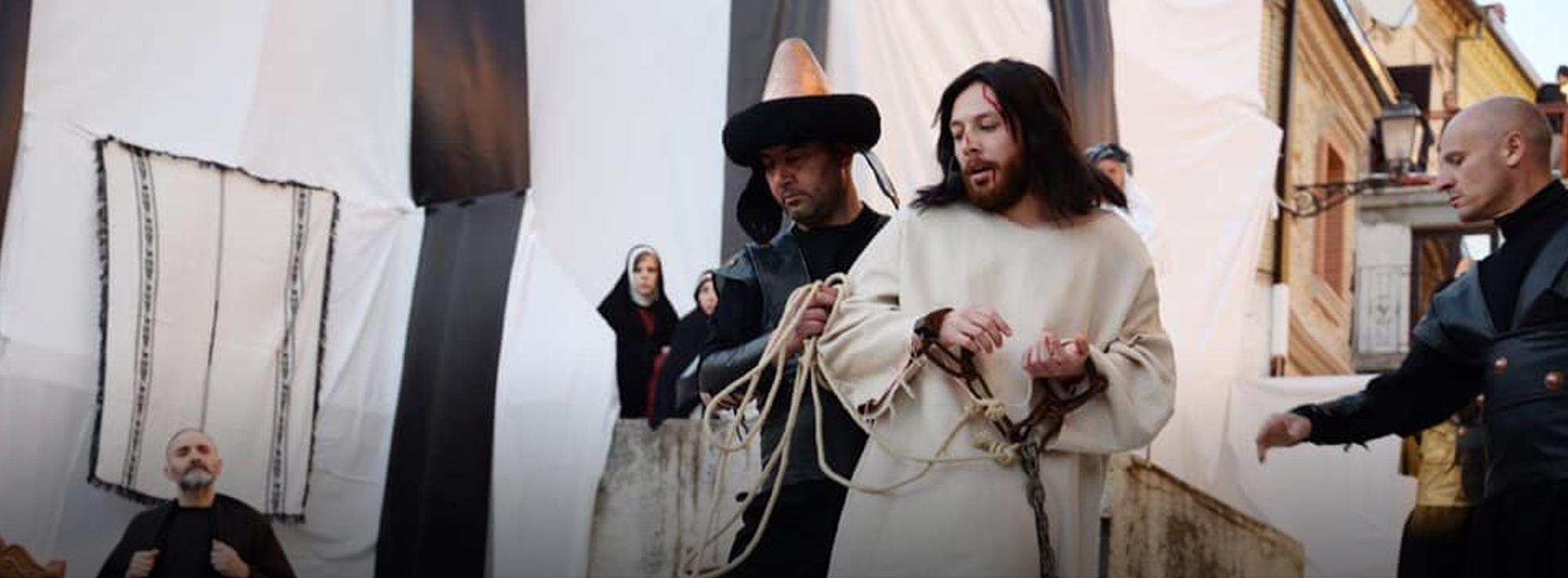 Motta Montecorvino: Passio Christi