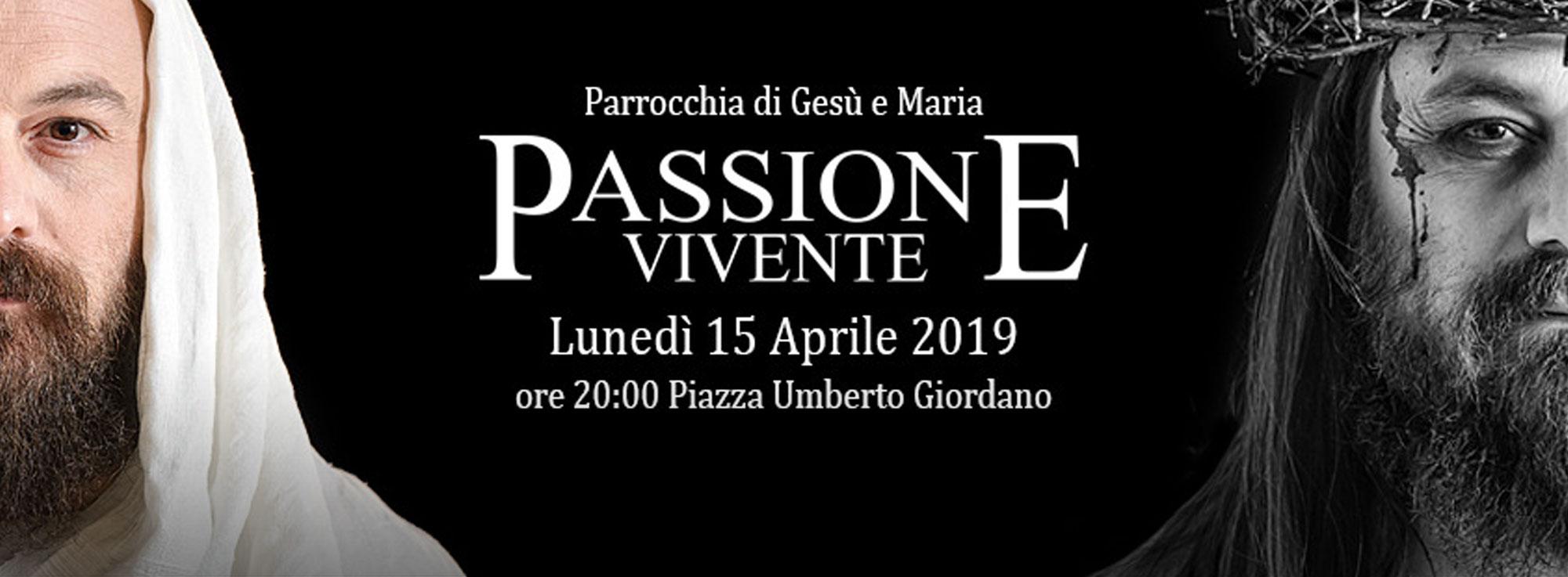 Foggia: Passione Vivente