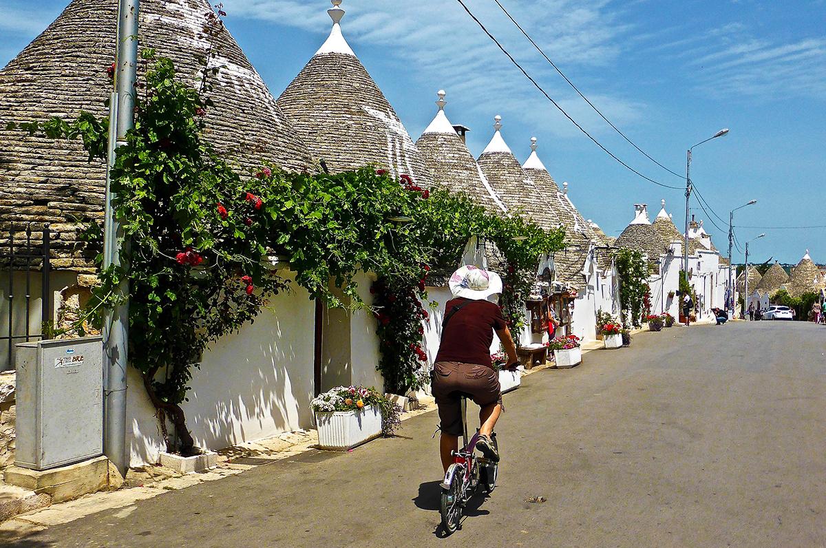 La Puglia è prima regione d'Italia per i ciclisti