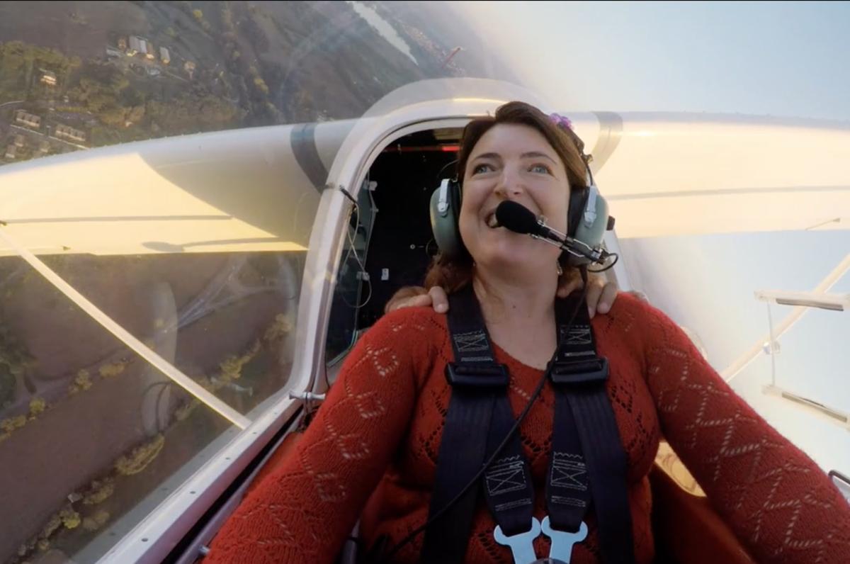 Sabrina Papa, la prima pilota italiana non vedente è salentina