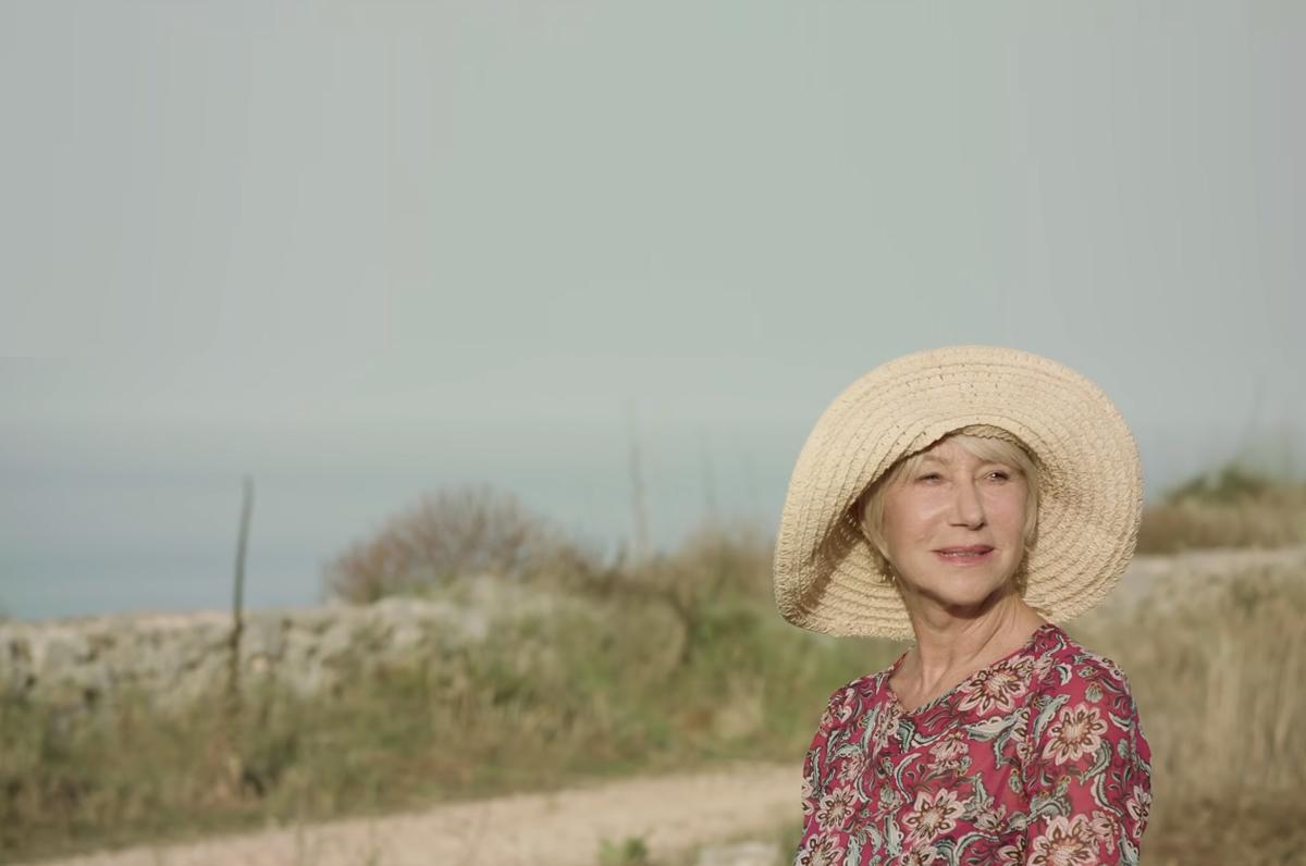 Helen Mirren esalta la Puglia in quattro spot girati per la difesa dell'ambiente