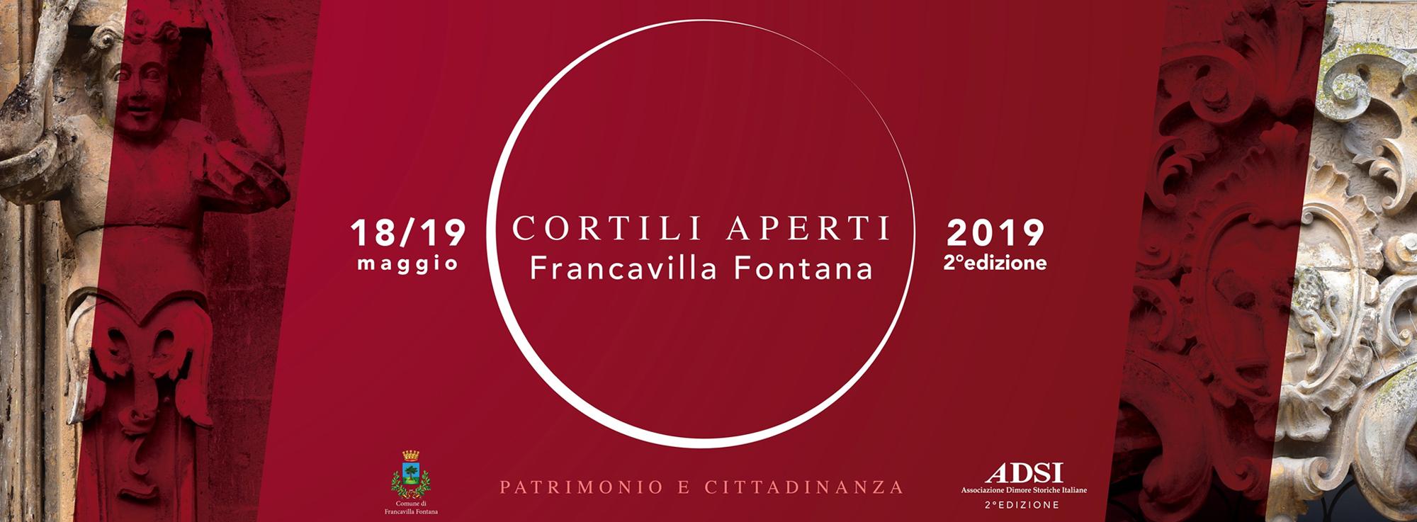 Francavilla Fontana: Cortili aperti 2019