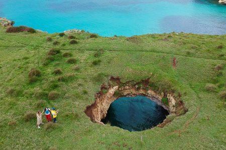Perché devi visitare la bellissima Grotta Sfondata di Otranto