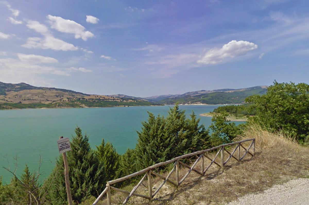 Lago di Occhito, il più grande bacino artificiale d'Italia