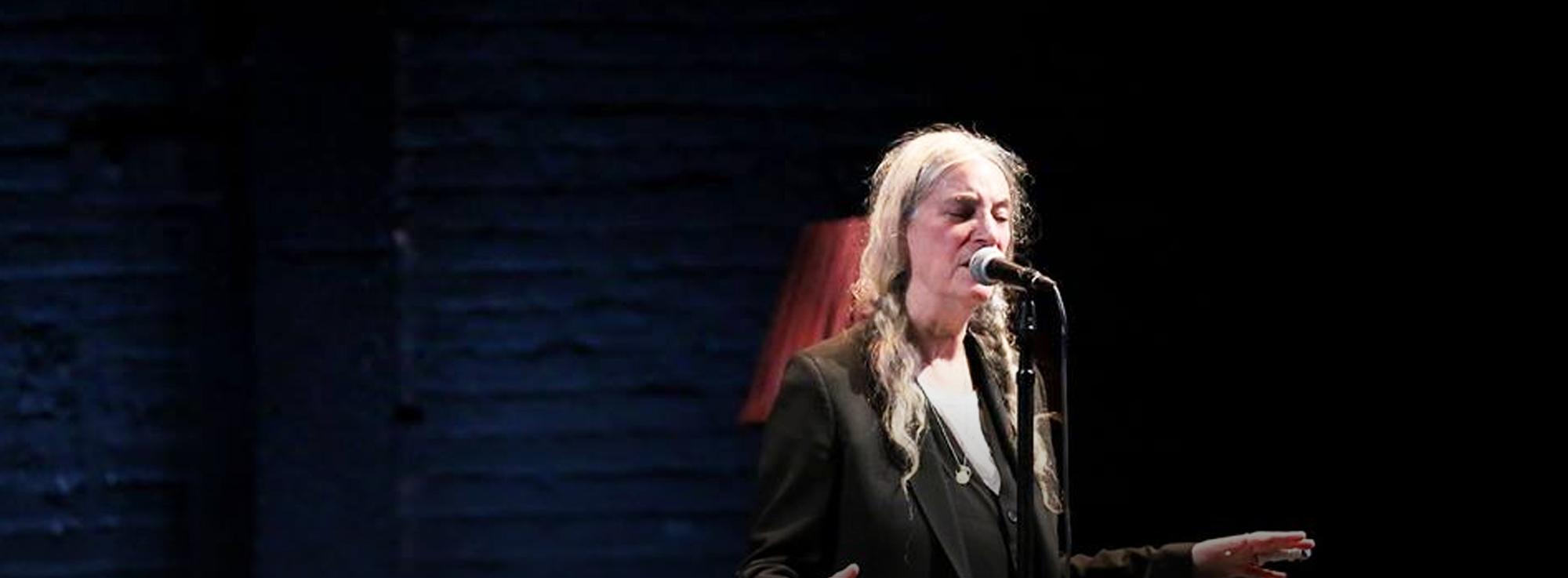 Taranto: Patti Smith al Medimex
