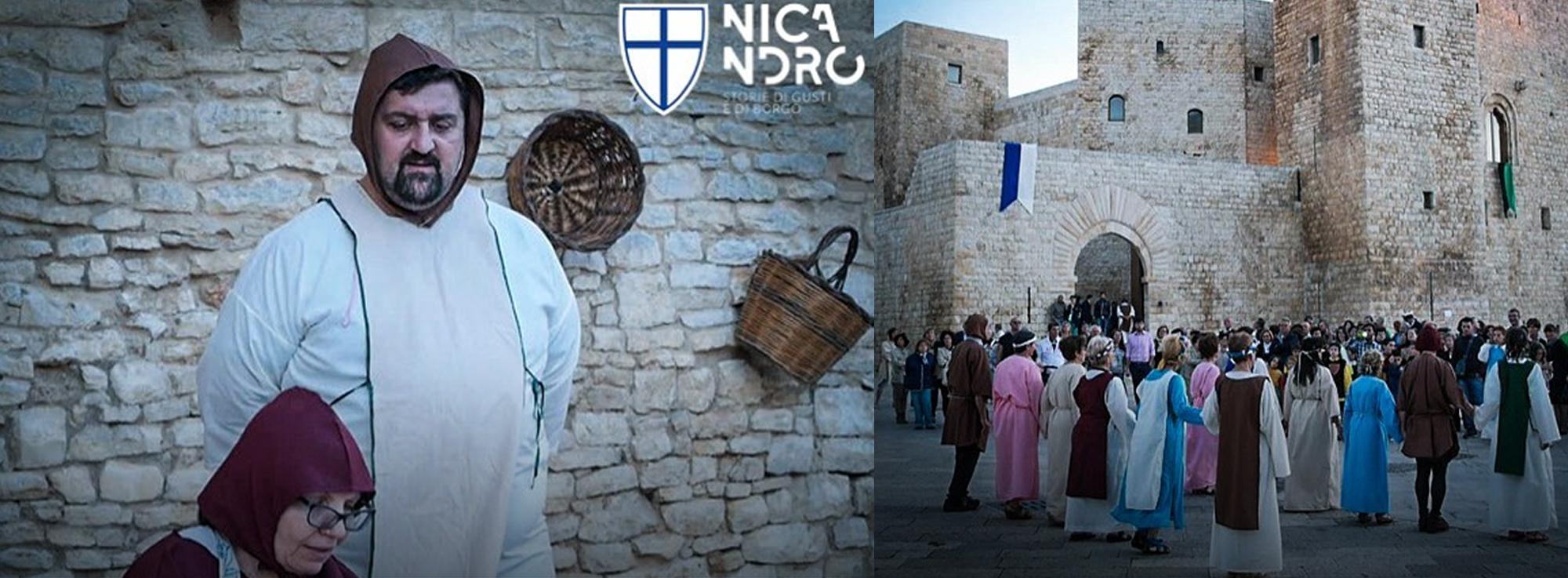 Sannicandro di Bari: Nicandro 2019 Giornata Medievale – Storie di Gusti e Borgo