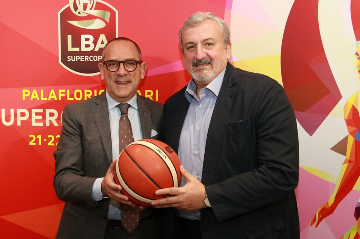 Il Palaflorio di Bari ospiterà la Supercoppa di Basket
