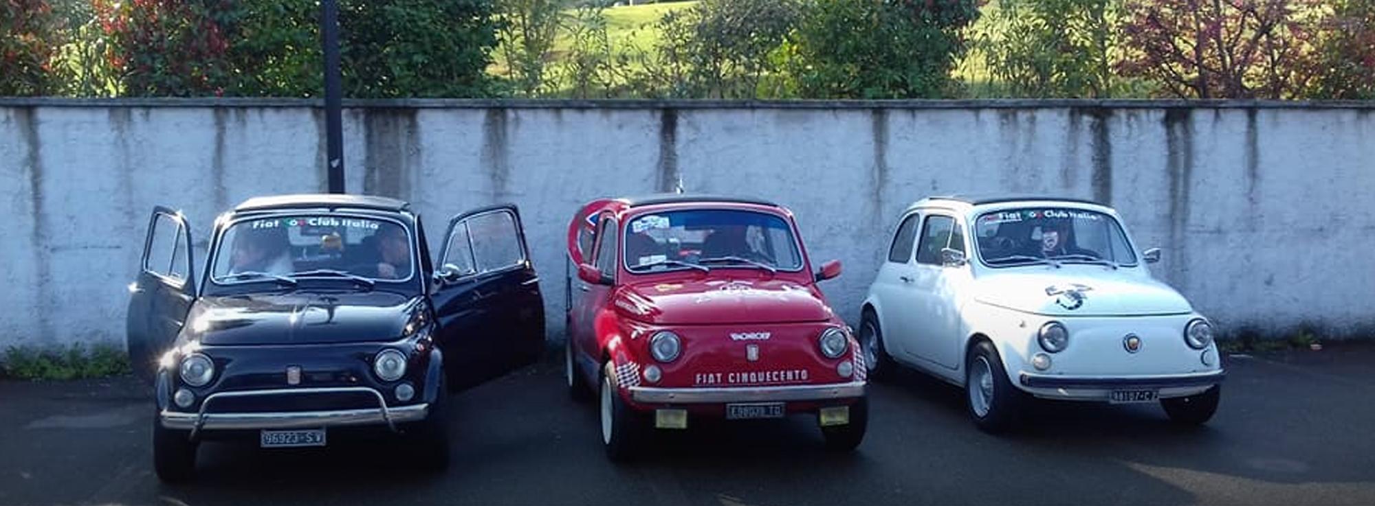 Bitetto: Raduno Nazionale Fiat 500