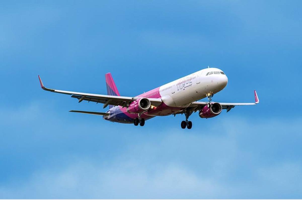 Bari-Iasi, la nuova rotta per la Romania di Wizz Air