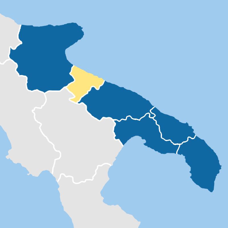 cartina provincia bat