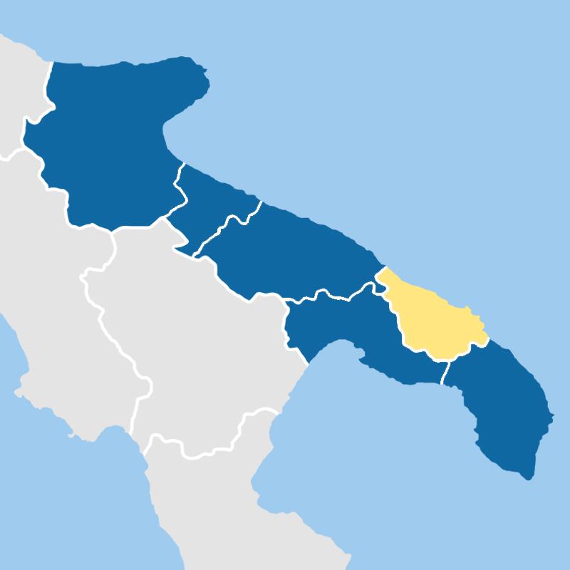 cartina provincia brindisi