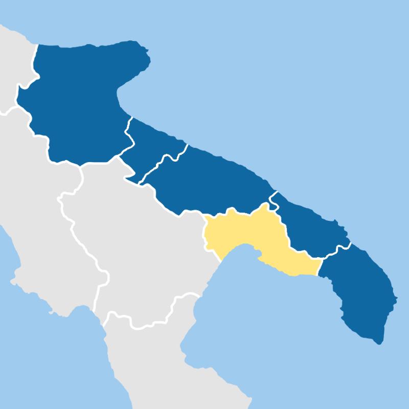 cartina provincia taranto
