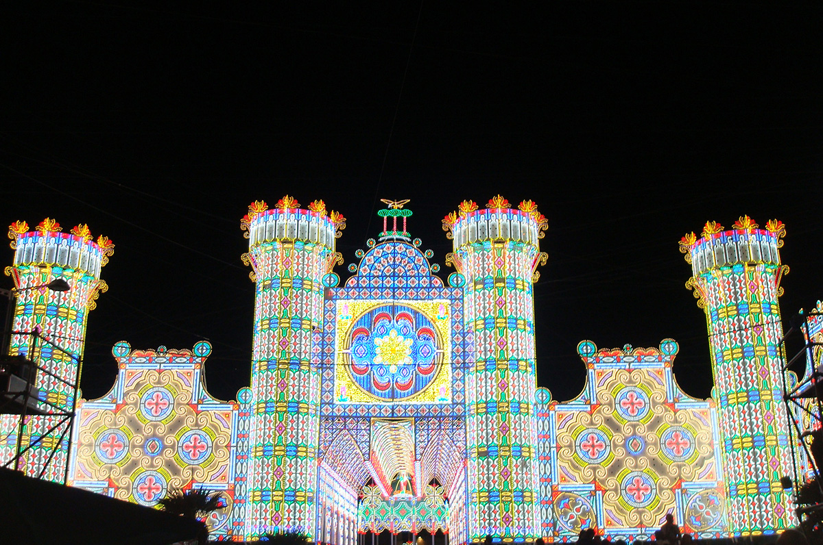 Luminarie di Puglia, l'elogio del quotidiano The Telegraph