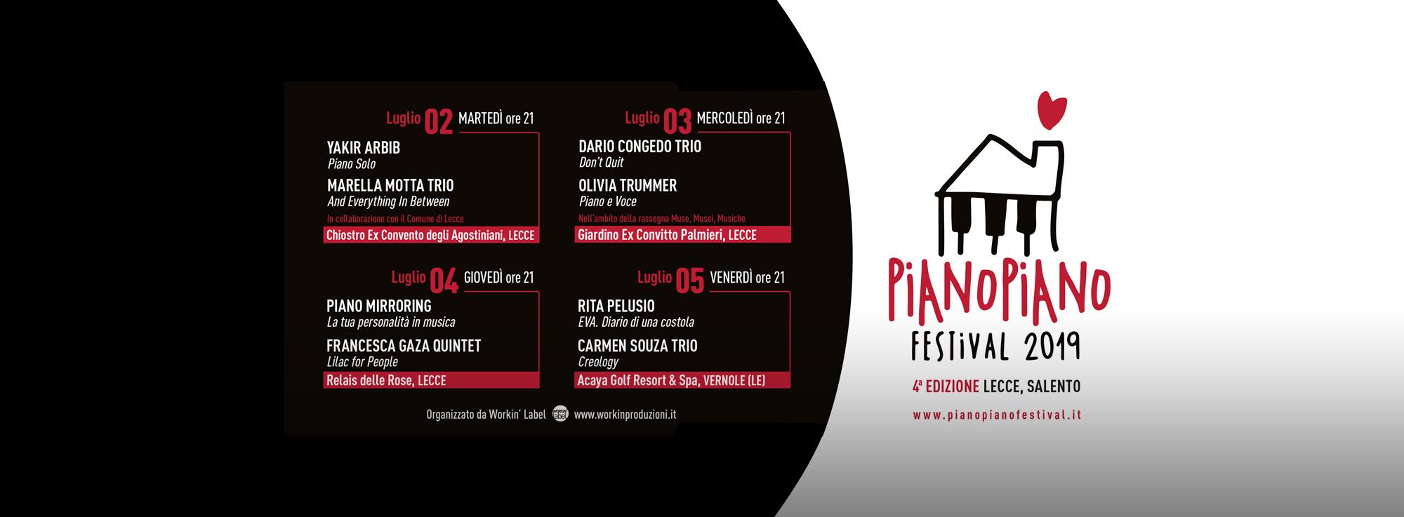 Lecce: Piano Piano Festival