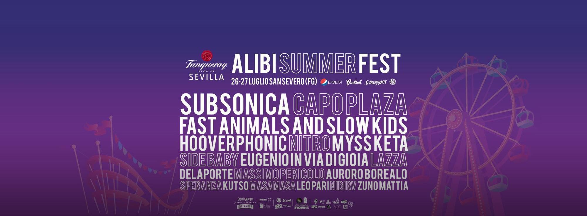 San Severo: Alibi Summer Fest