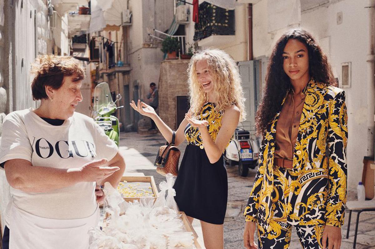 Bari Vecchia e Monopoli sfondo del set fotografico di Vogue Olanda