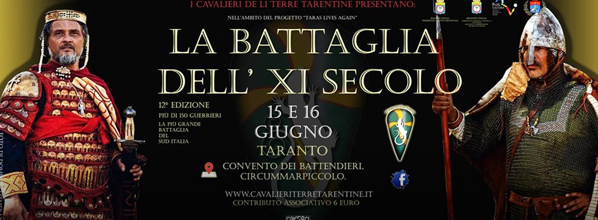 Taranto: La battaglia dell'XI secolo